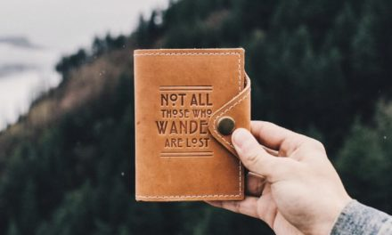 """""""Not All Who Wander Are Lost"""" Adventure Journal"""